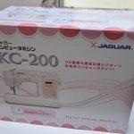 JAGUAR(ジャガー) コンピューターミシン KC200